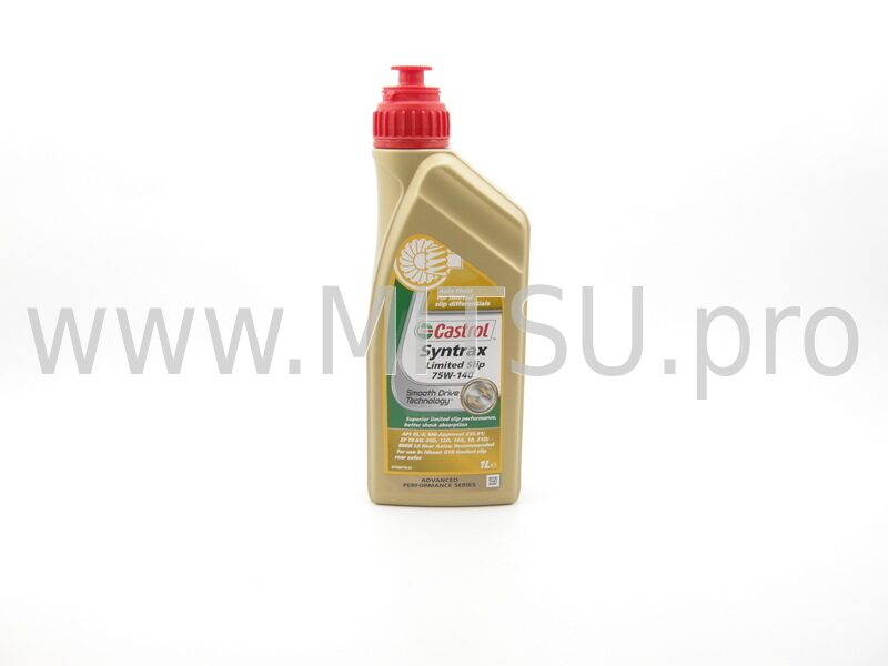 Масло для мостов 75w140 castrol 1л syntrax limited slip gl5